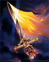 firey sword
