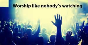 worship like